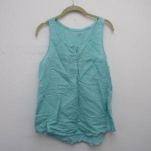 Ann Taylor LOFT Women's Sleeveless Blouse Size M